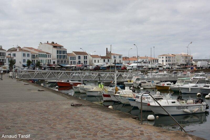 001476 Noirmoutier Juin 2020 - L'Ile d'Yeu - Port Joinville
