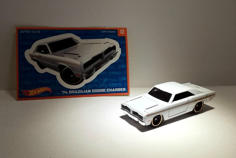 Dodge Charger Brazilian de 1974 (Hotwheels)