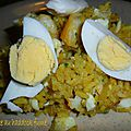 Kedgeree au haddock fumé