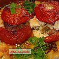 Tomates farcies selon sara.