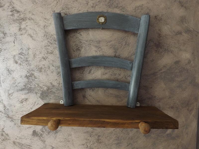 Chaises étagères (7)