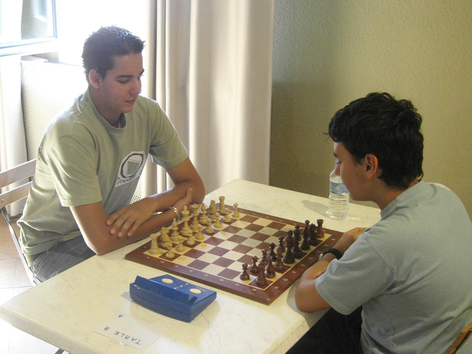 Grand Prix Arcois 2007 (50) Jordi Urrutia vs Pierre Villegas