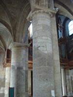Colonnes en pierre de Vernon (piliers d'origines)