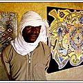 Exposition de l'artiste peintre chahamata