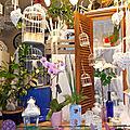 La boutique de fleurs de la rue arachovis
