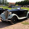 La simca/fiat balilla (f111) cabriolet de 1935 (8ème rohan-locomotion)