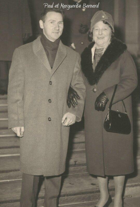 Paul et Marguerite Bernard