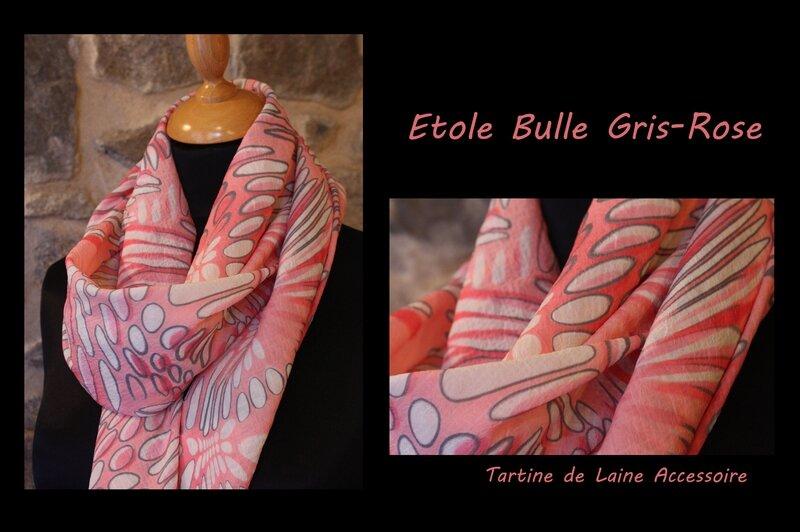 ETOLE ROSE GRIS BULLE