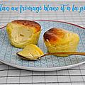 Flan de fromage blanc à la poire