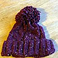 #tricot : the able cable hat (bonnet cadeau de noël 2)