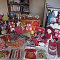 Marché de noël, la préparation... weihnachtsmarkt, die vorbereitung...
