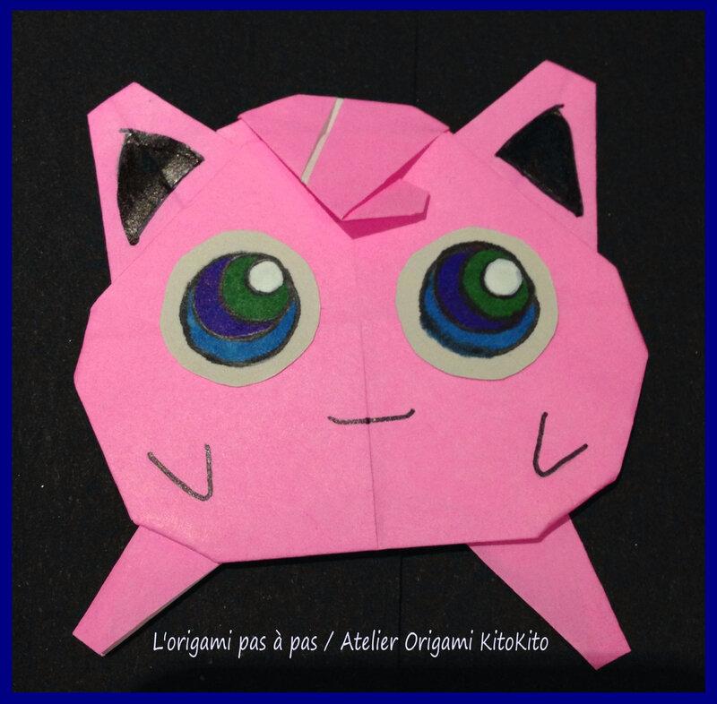 Rondoudou 1 Jigglypuff Pokmon Lorigami Pas Pas Atelier