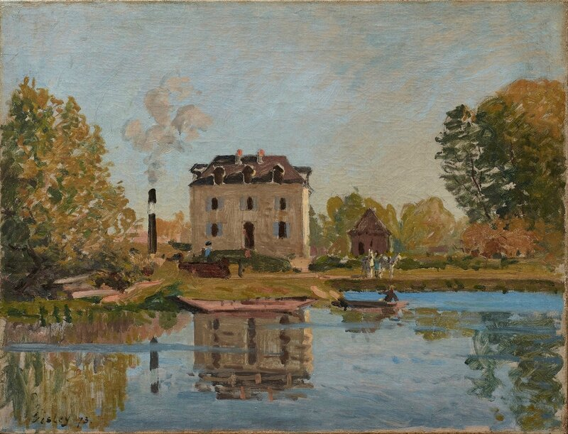 Alfred Sisley, 'The Flood