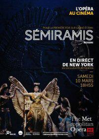 Vends 2 places pour Semiramis au Cinéma