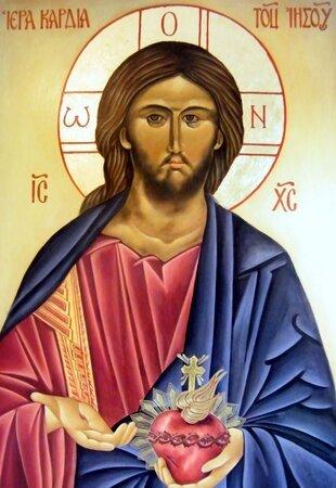 icone do Coeur de Jésus Normal