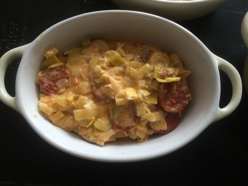 Lasagnes poireaux et chorizo (11)