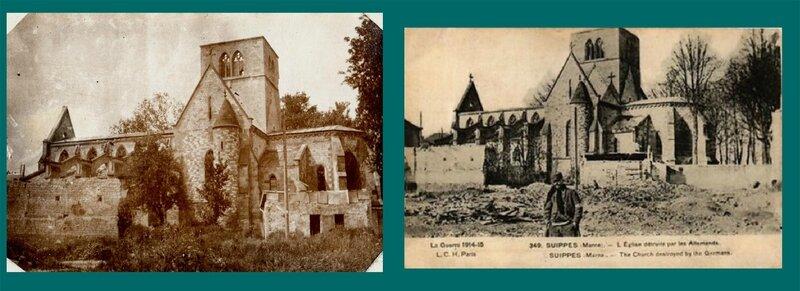 Suippes (Aisne), l'église