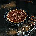 Tartelette au chocolat cru & kasha (sarrasin) #vegan