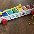 1 xylophone fisher price