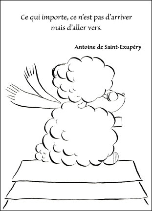 saint exupery view