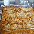 Gratin de macaroni au thon