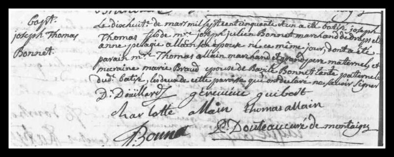 BONNET JOSEPH-THOMAS acte naissance