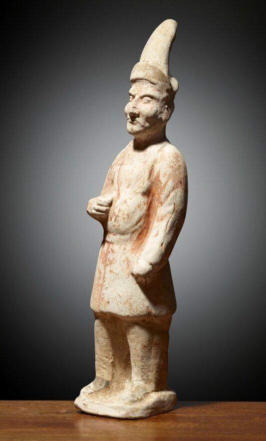 Palefrenier étranger, Chine, Dynastie des Tang (618 – 907), ca 7°siècle