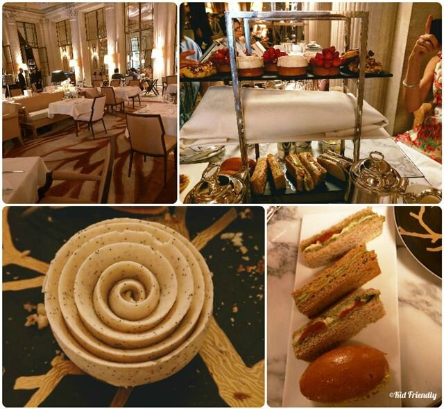Tea time au Meurice ©Kid Friendly