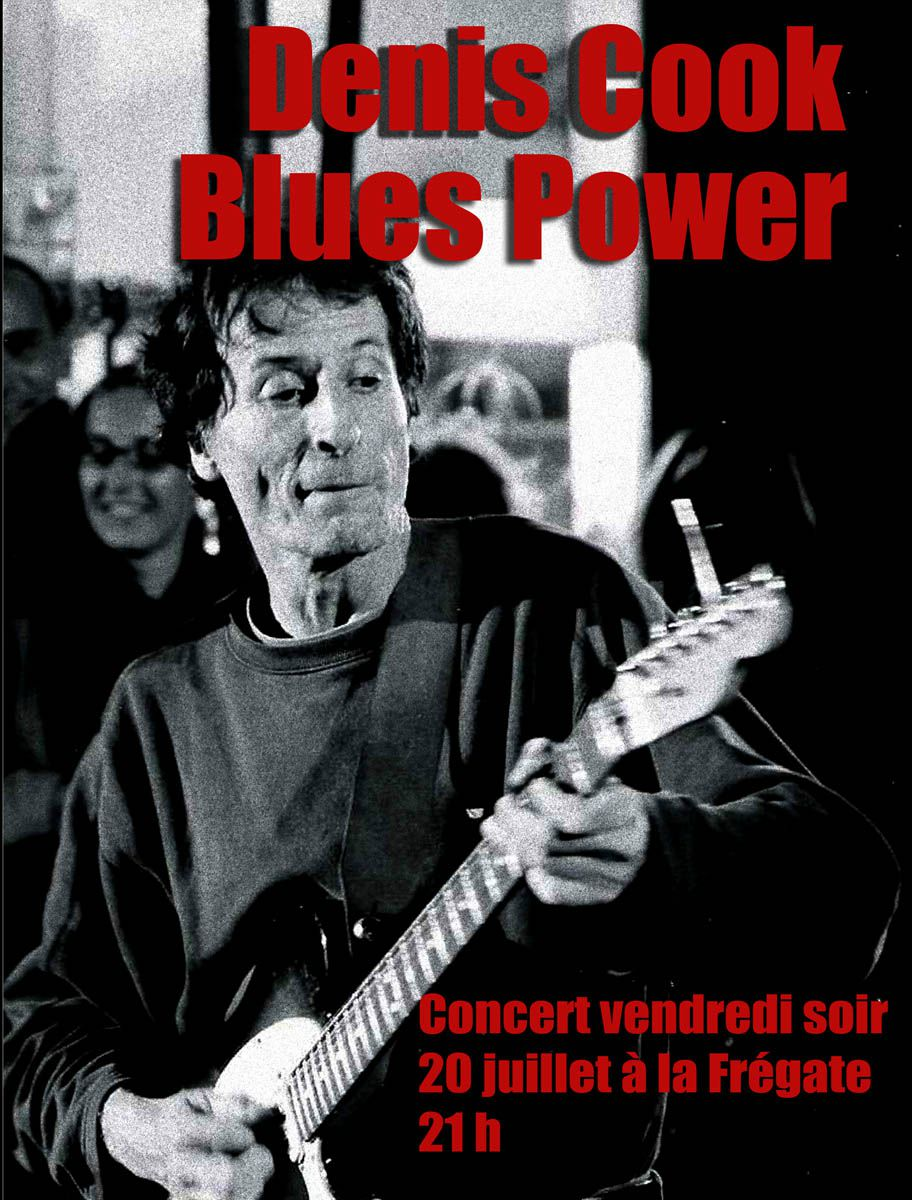 affiche blues power copie net