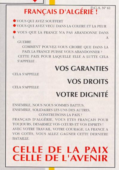 tract garantie après indépendance
