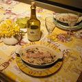 Andouillettes aux morilles et vin jaune