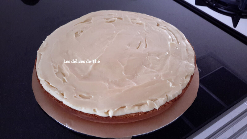 Wedding cake génoise ganaches 3 chocolats Théme Coquillages Mariage Domi Eric 28 04 18 (15)