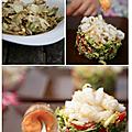 Des calamars pour une salade peps