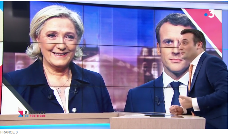 MARINE LE PEN PHILIPPOT DEBAT PRESIDENTIEL MEDIA DIXIT WORLD