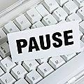 Réflexions en mode pause