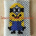 Etui porte carte Minion : créa perso