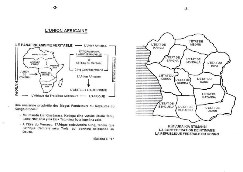 LA NOUVELLE CAPITALE DE LA REPUBLIQUE FEDERALE DU CONGO b