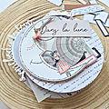 Coup de cœur papiers imprimés : collection dans la lune de chou & flowers