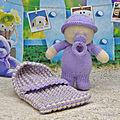 Baby dreamer - knitting by post