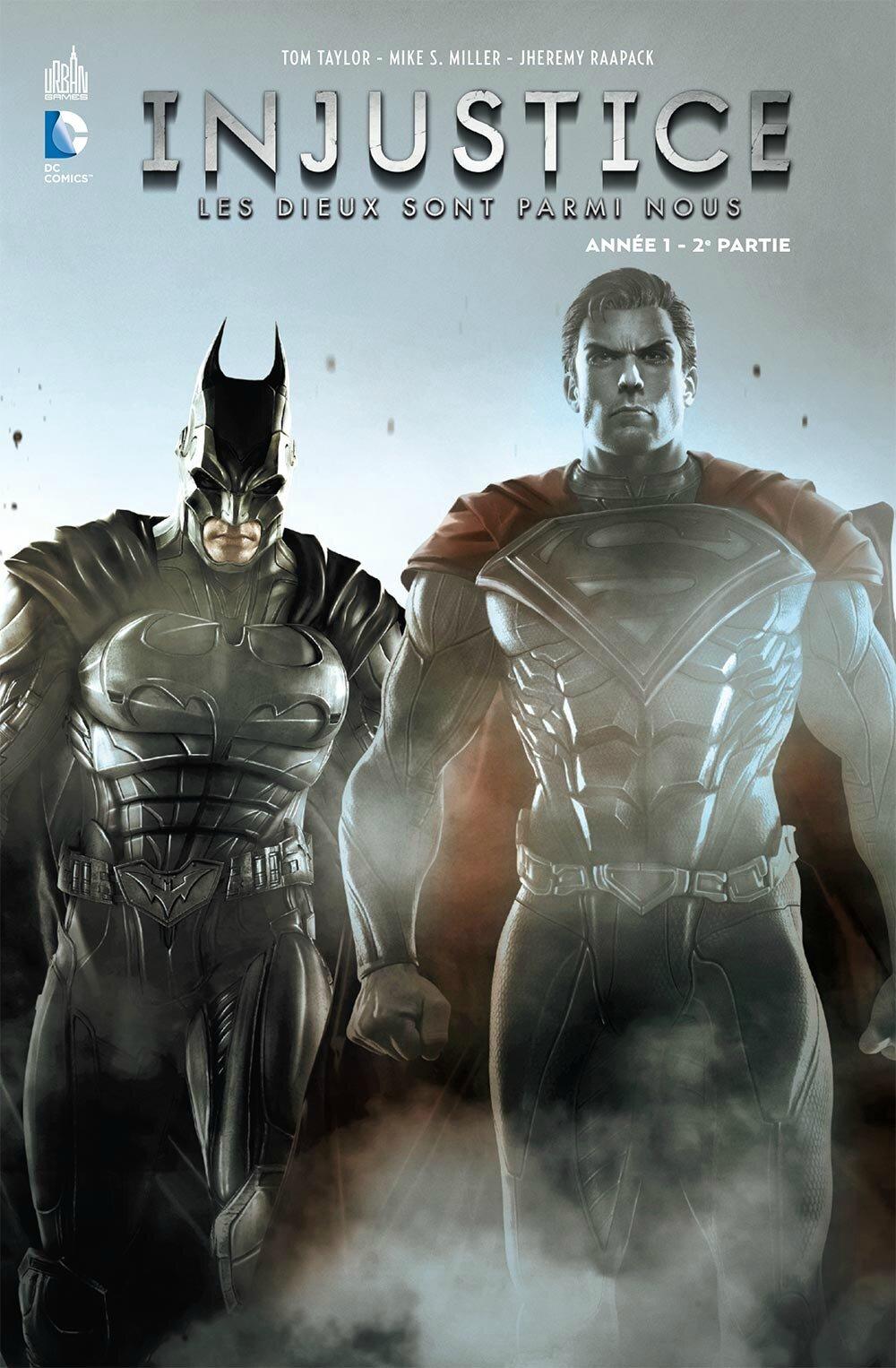 Urban Comics : Injustice, les dieux sont parmi nous