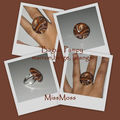 bague pampy marron