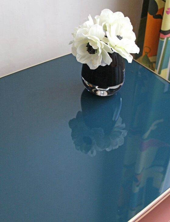 table-basse-annees-50-vintage-vert-emeraude-detail-plateau