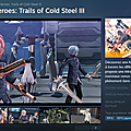 cold steel 3 steam
