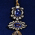 Toison from the insignia of the order of the golden fleece; munich, around 1760