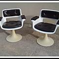 Paire de fauteuils de Albert Jacob pour Grosfillex, 1970