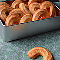 Biscuits de polenta à l'orange