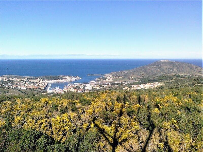 point de vue sur Port-Vendres du puig Granja jp 15032019