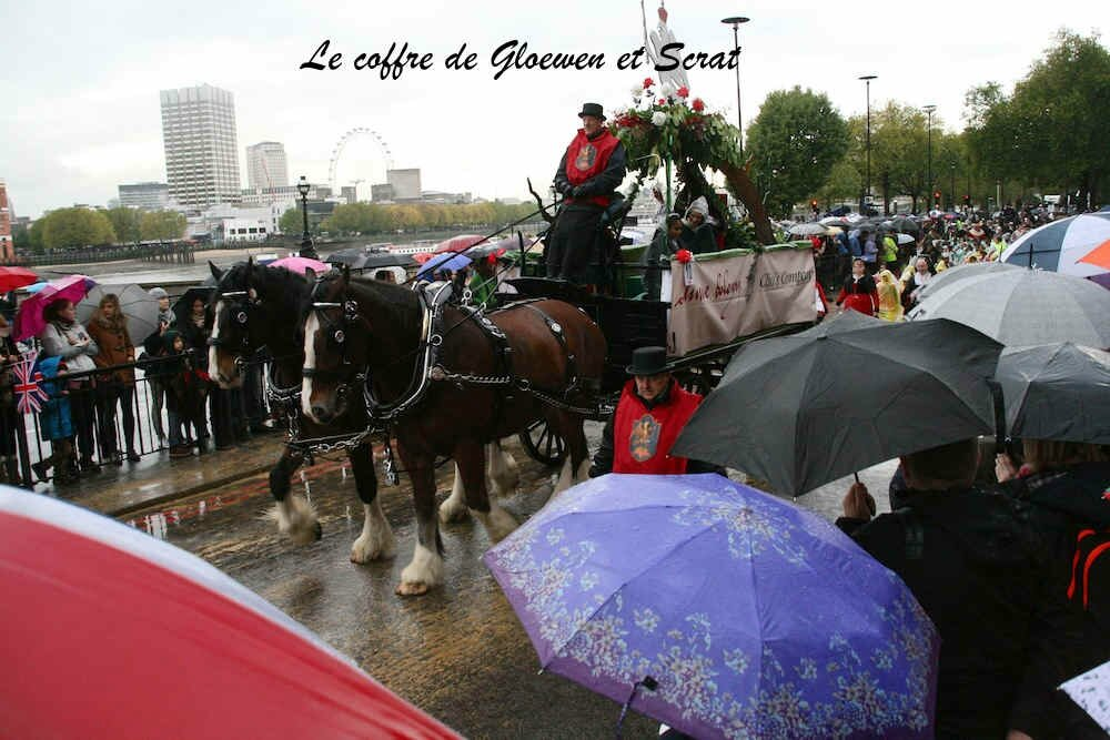 Parapluie, tamise et carrosse: Lord Mayor show