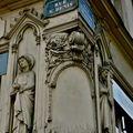 Rues Saint-Denis, Etienne Marcel.