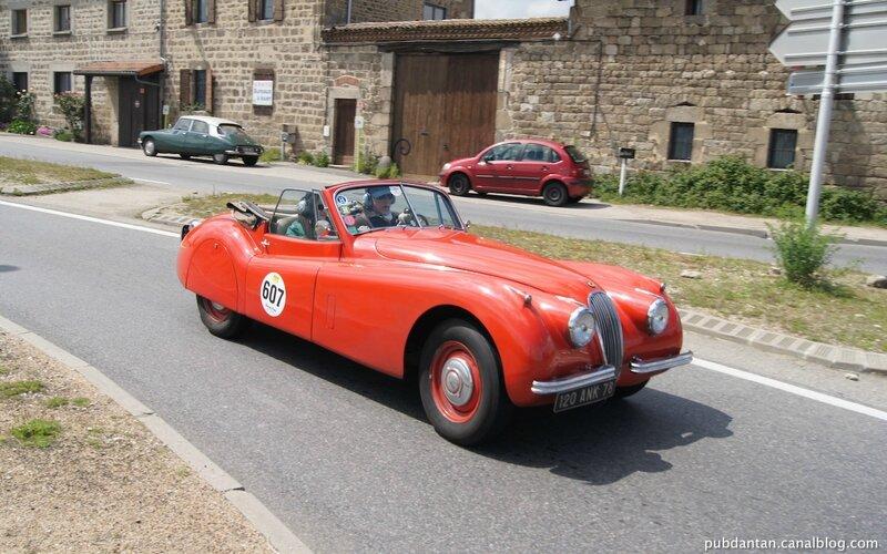 607-Jaguar XK120DHC 1953-Fr